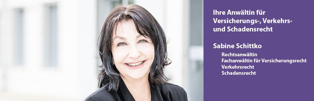 Rechtsanwältin Sabine Schittko